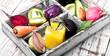 Freshly squeezed vegetable juice - 185876980