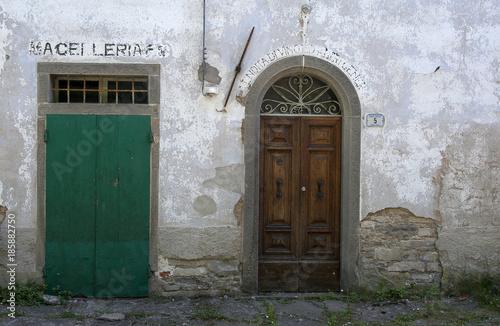Deurstickers Toscane Sambuca Pistoiese - borgo