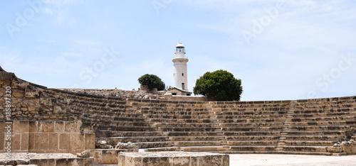 Papiers peints Chypre Paphos Lighthouse
