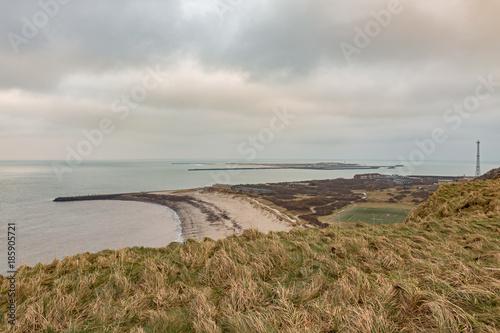 Foto op Canvas Noordzee Helgoland - Blick zur Düne