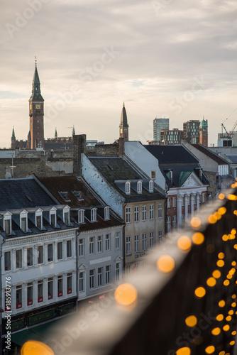 Fotobehang London Copenhagen Skyline