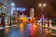 Vilnius. Christmas tree.
