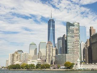 Skyline Of Lower Manhattan New York