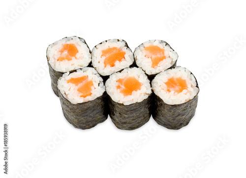 Foto op Canvas Sushi bar sushi rolls
