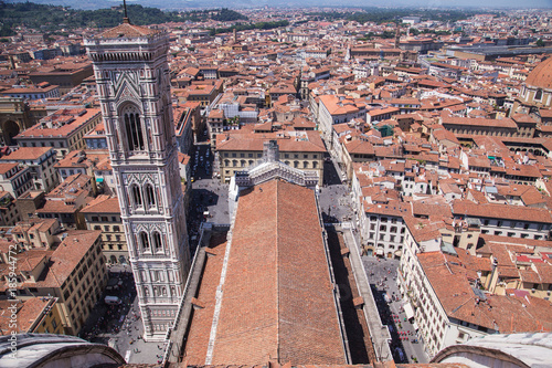 Deurstickers Florence city of Florence in Italy