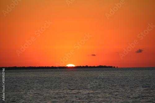 In de dag Oranje eclat Amazon Sunset