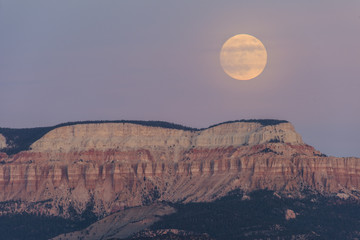 Super Moon Over Bryce Canyon