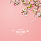 Spring Cherry Blosso...