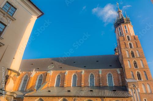 Papiers peints Cracovie Strade e palazzi di Cracovia