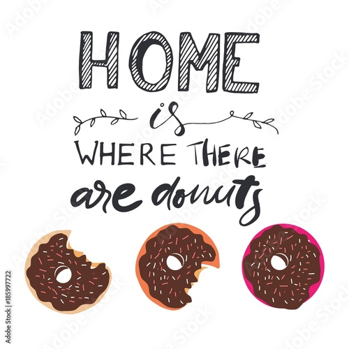 Home is where the cake is Poster