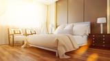 Sonniges Schlafzimmer in Suite im Hotel - 185998709