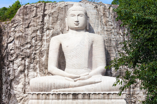 Tuinposter Boeddha Rambadagalla Samadhi Buddha Statue