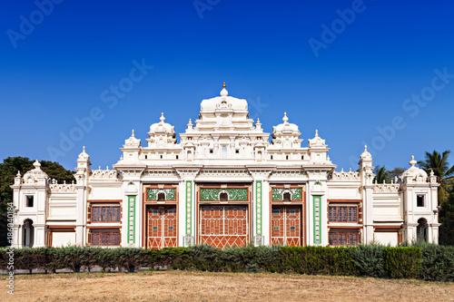 Staande foto Donkerblauw Jagan Mohan Palace