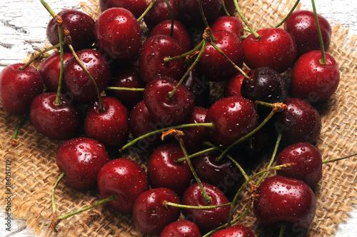 Fotobehang Kersen Prunus avium