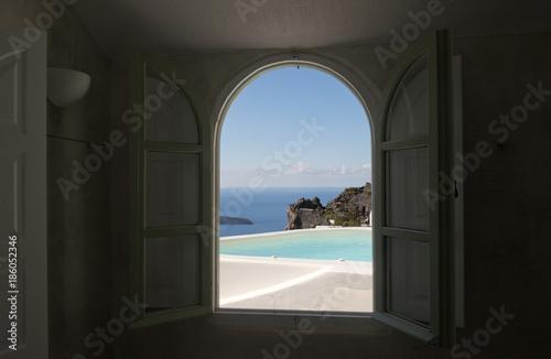 Foto op Aluminium Santorini Santorini island