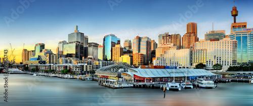 Foto op Canvas Sydney Darling harbor waterfront, Sydney, Australia