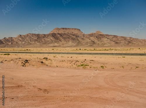 Wadi Rum desert in Jordan Poster