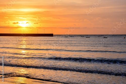 In de dag Oranje eclat Ocean Coast's View