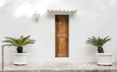 House door in Rio de Janeiro, Brazil