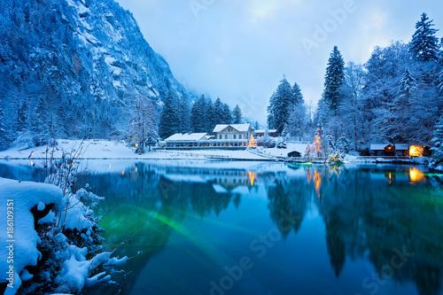 Blausee, Schweiz - 186109351