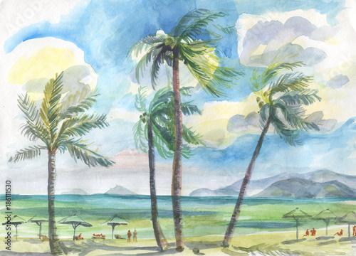 palmy-na-akwareli-plazy