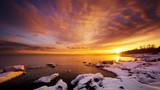 Brilliant Sunset at Brighton Beach
