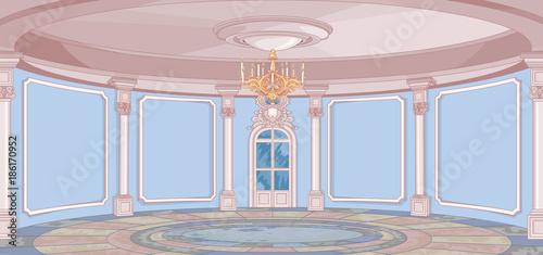 Deurstickers Sprookjeswereld Palace Hall