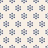 seamless snowflake pattern - 186197587