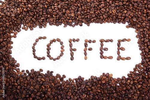 In de dag Koffiebonen Coffee beans
