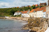 A view of the West Shore, Pittenweem, Fife, Scotland, UK. - 186212793