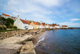 A view of the West Shore, Pittenweem, Fife, Scotland, UK. - 186212907