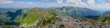 Mountain panoramas, Western Tatras, Peaks