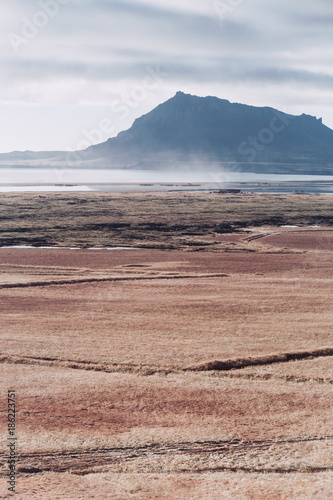Fotobehang Zalm Snaeffelsnes Peninsula Island