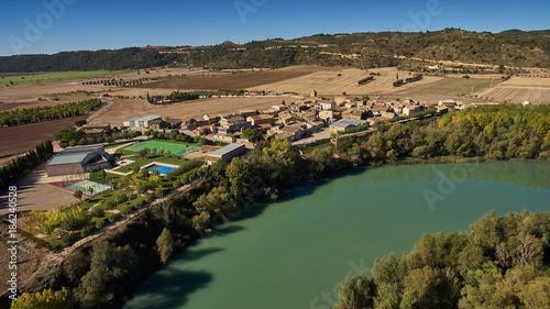 Foto op Aluminium Khaki Ardisa village in Zaragoza province, Spain