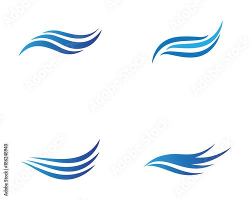 Wave vector icon