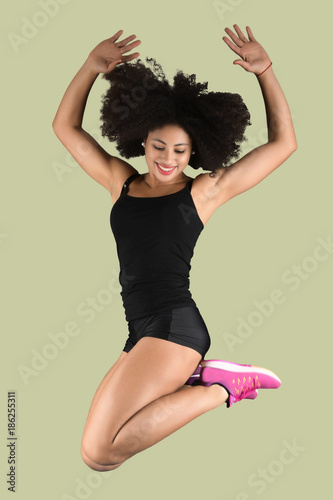une belle fitness femme