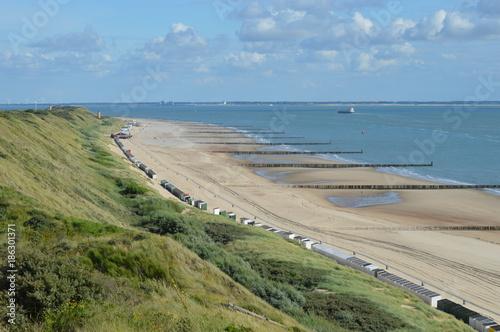 Foto op Plexiglas Noordzee Strand in Zoutelande, Holland