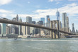 Brooklyn Bridge And View Of Lower Manhattan
