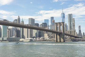 Brooklyn Bridge And View Of Lower Manhattan