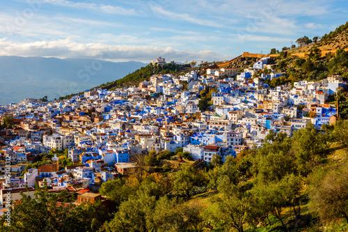 Fotobehang Marokko Chefchaouen, blue city, Morocco