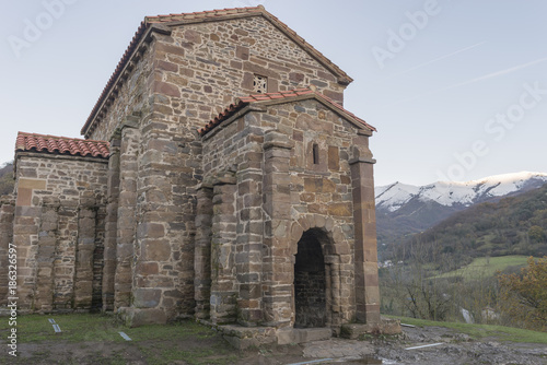 Staande foto Grijs Details of Asturias