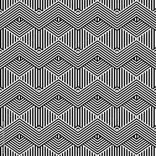 geometric lines pattern background vector illustration design - 186336795