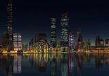 Futuristic City - 3D Computer Graphic Illustration