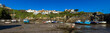 England, Cornwall, Newquay, The harbour at low tide