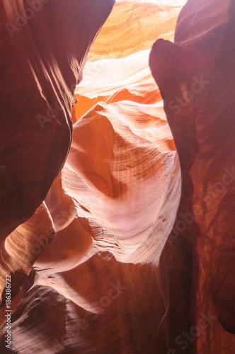 Foto op Aluminium Bordeaux Red Rocks of Antelope Canyon