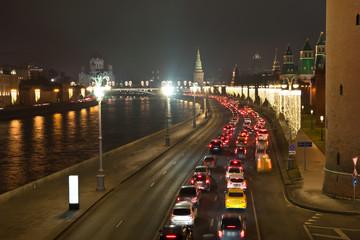 Moscow. Kremlin embankment
