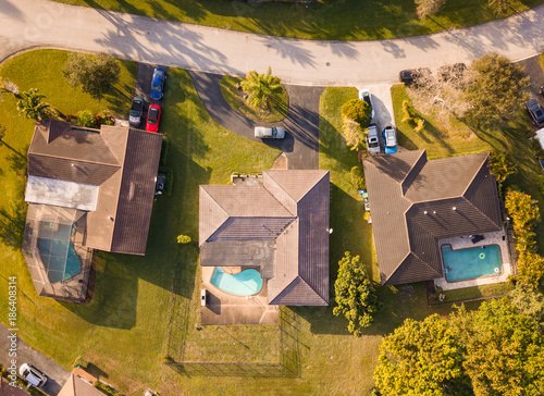 In de dag Honing South Florida Urban Aerial Photography