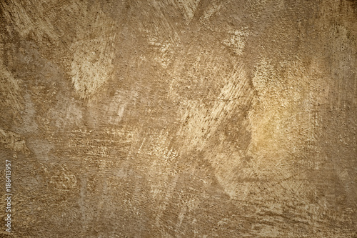 Tuinposter Betonbehang Concrete plaster stucco wall background