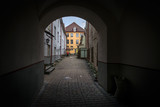 View of the arch of Tallinn. - 186432971