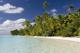 Tropical Paradise - Cook Islands - Aitutaki Lagoon poster